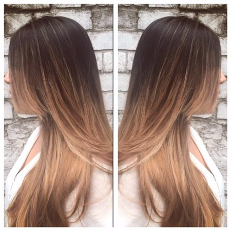 Balayage done by Leyla at the klinik Farringdon London