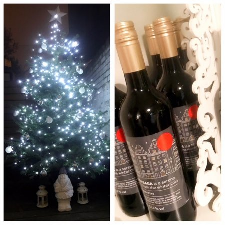 The klinik hairdressing has the Christmas tree decorated and up in full lights! we are serving Swedish Mulled Wine every Friday and Saturday throughout December. Book to doyour hair! Call us, Get festive ready!