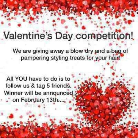 Here is an opportunity to win a treat with us on instagram for Valentines Day!