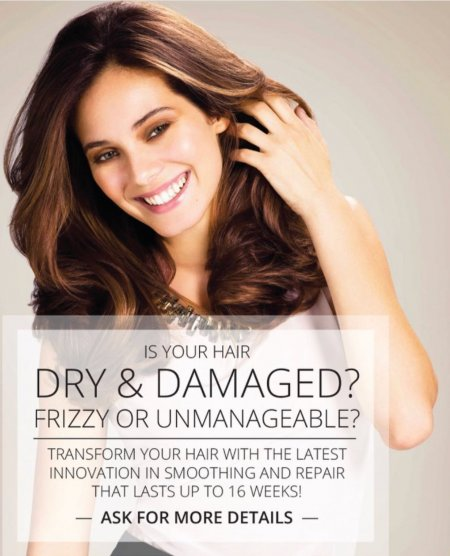 Kerastraight offer....This is perfect for all dry, unruly post holiday hair!