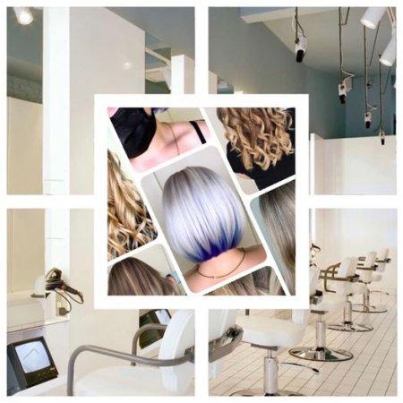 Advertising hair positions at the klinik salon London