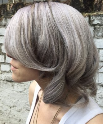 Metallic Silver Hair Hot Red Color By Guy Tang