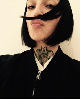 Mark cut a connected A-line bob with an undercut to give it a personalised edgy finish. Done by Mark at the klinik hairdressing London.