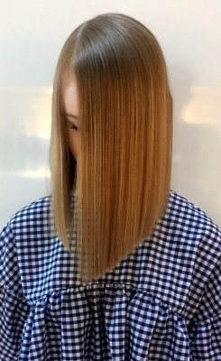Long A-line cut by Mark at the klinik hairdressing London
