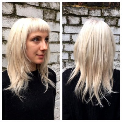The ultimate blonde experience by Thea at the klinik hairdressing London