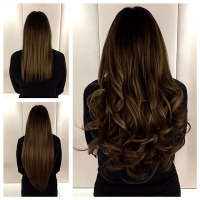 Amazing hair transformation by Leyla using Easilock system at the klinik hairdressing