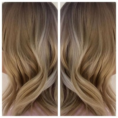 Blond hair has been highlighted using Wella, Loreal and Olaplex. To finish off its been blow dried with a soft wave and the finished off using GHD irons to get a tousled effect.
