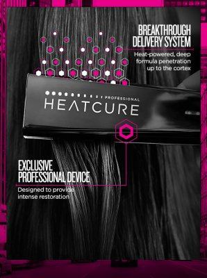Heatcure from Redken has arrived to the klinik salon EC1R 4QE