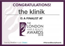 We are finalist in the 2018 London Hair & Beauty Awards - Hair Salon of the year – Central region