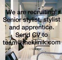 the klinik is recruiting new staff.