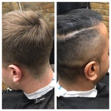 Carlo has been on a mens barbering course and are offering £25 introductory haircuts at the klinik hairdressing