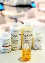 Olaplex bottles in range with Olpalex no 7 to add the last in the family!