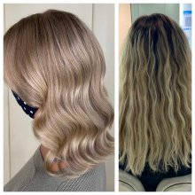 haircut from long to short by Leyla at the klinik